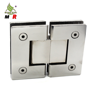 New style polished stainless steel shower glass door hinge