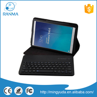 Best Price slide Tab E 9.6 T560 T561 wireless bluetooth keyboard leather case for samsung