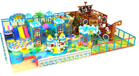 children toys indoor amusement playground for kids with slide and trampoline