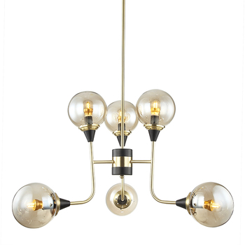 Modern new product residential French style light satin gold chandelier