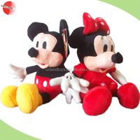 Shanghai oriland plush wholesale mickey minnie mouse doll toys for kids