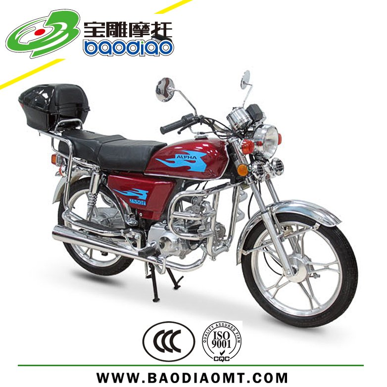 Baodiao New Moped Motorcycle 50cc Engine Motorcycle Wholesale Manufacture Supply Directly EEC EPA