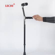 Low Price steel tube Telescopic leg support resin walking cane head