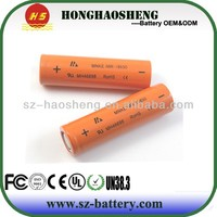 High Quality battery for ecigo battery rechargeable battery original 18650 mnke