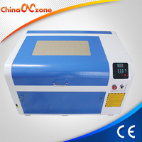 ChinaCNCzone 50w Small Desktop CO2 Mini Laser Engraver Cutter Price Cheap