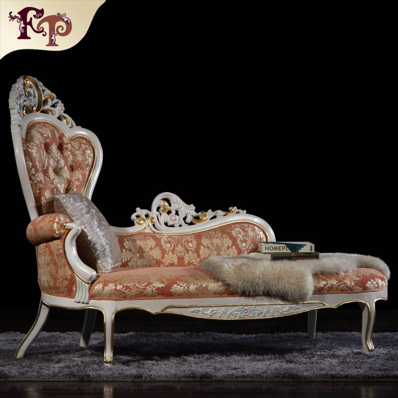 Antique classic furniture chaise lounge antique reproduction bedroom furniture