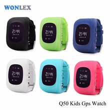 Q50 smart kids gps watch phone hand mobile phone Q50 with factory price