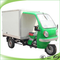 new design closed box 3 wheel motor tricycle delivery motorcycle