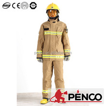 PENCO fireman outfit heat resistant jacket for fire protection
