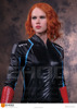Sex Doll Black Widow Silicone Wax Statues Size Life Wax Figures