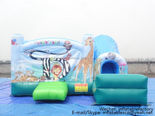 PK160417201 cheap sale buncer on china jump castle kids inflatable bouncer slide 2017