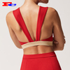 Wholesale Custom Sports Bra Sexy Back Design Women Activewear Comfortable Fitness Top