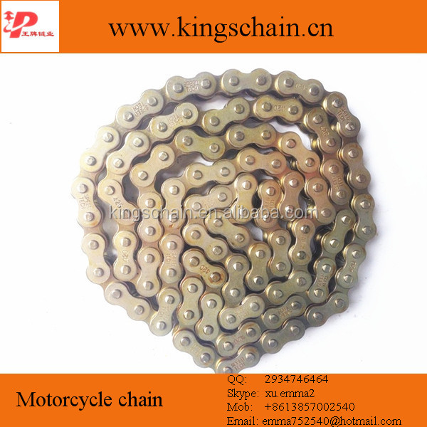 Chain 40# steel motorcycle chain set, chain sprocket kit