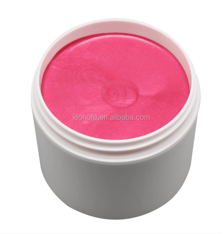 private label oem fashion silver color jar styling hair colour wax