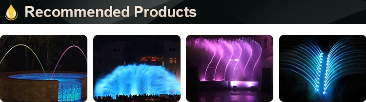 Digital Chinese waterfall indoor graphical water curtain