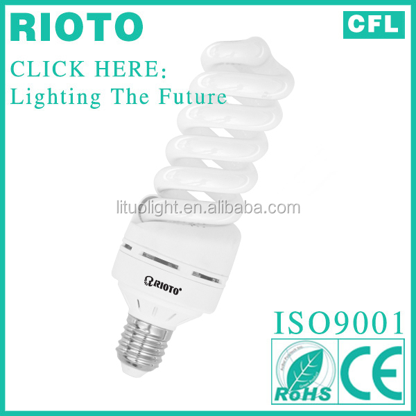 Full Spiral 26w Energy saver Fluorescent lighting bulb