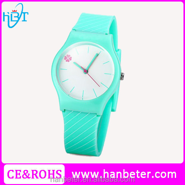 Oem branded custom silicone watches made in China with 2035 movement watch