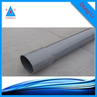 expert manufacturer 400mm PVC tube upvc water pipe for irrigation