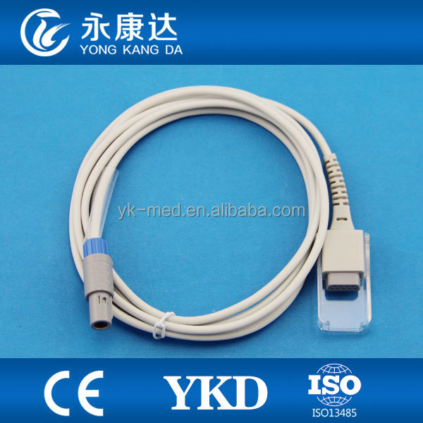 mindray PM7000 PM8000 spo2 sensor extention cable 6pin surgical supplies