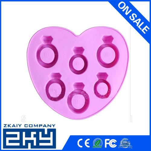 Wholesale high quality FDA silicone ice tray, fancy ice cube trays Silicone Ice Pop Tray
