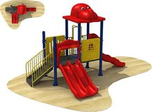 Hot sale pirate ship used commercial playground equipment/children outdoor playground equipment