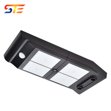 High quality polymer Lithium battery wall lamp waterproof outdoor led street solar garden light