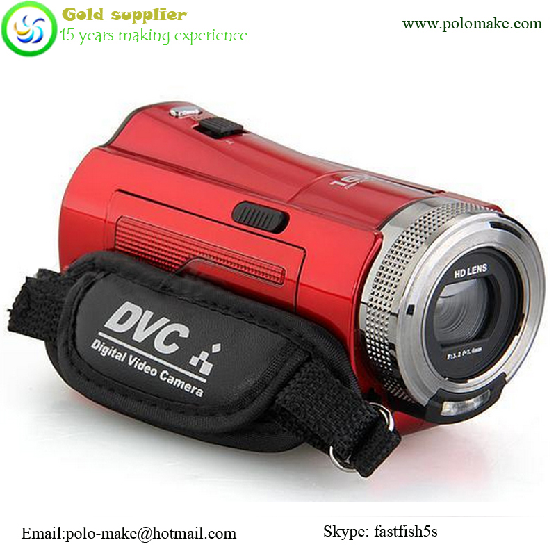 Hot 2.7 Inch USB TFT 16MP 16X Digital Zoom SD Card Video Camcorder Camera DV
