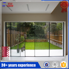 sliding aluminum frame door
