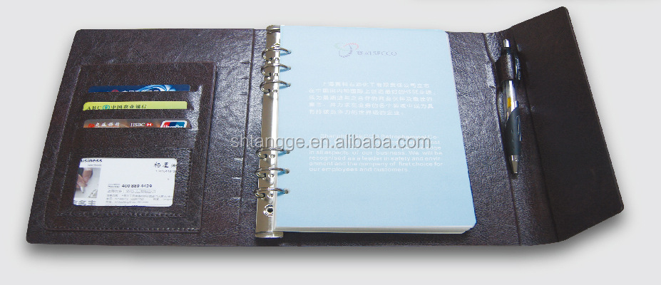 New fashion A4 Size PU Leather Portfolio