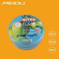 popular 2016 hot sell high quality water based pomade hair styling wax,fruit mix box Nitro Canada hair wax with low price