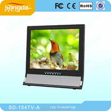 "DC12-24V LED Backlight 15"" car roof monitor with Dual input for Bus"