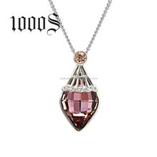 New Promotion Crystal Pendant Necklace ,Pendant Necklace Jewelry Wholesale