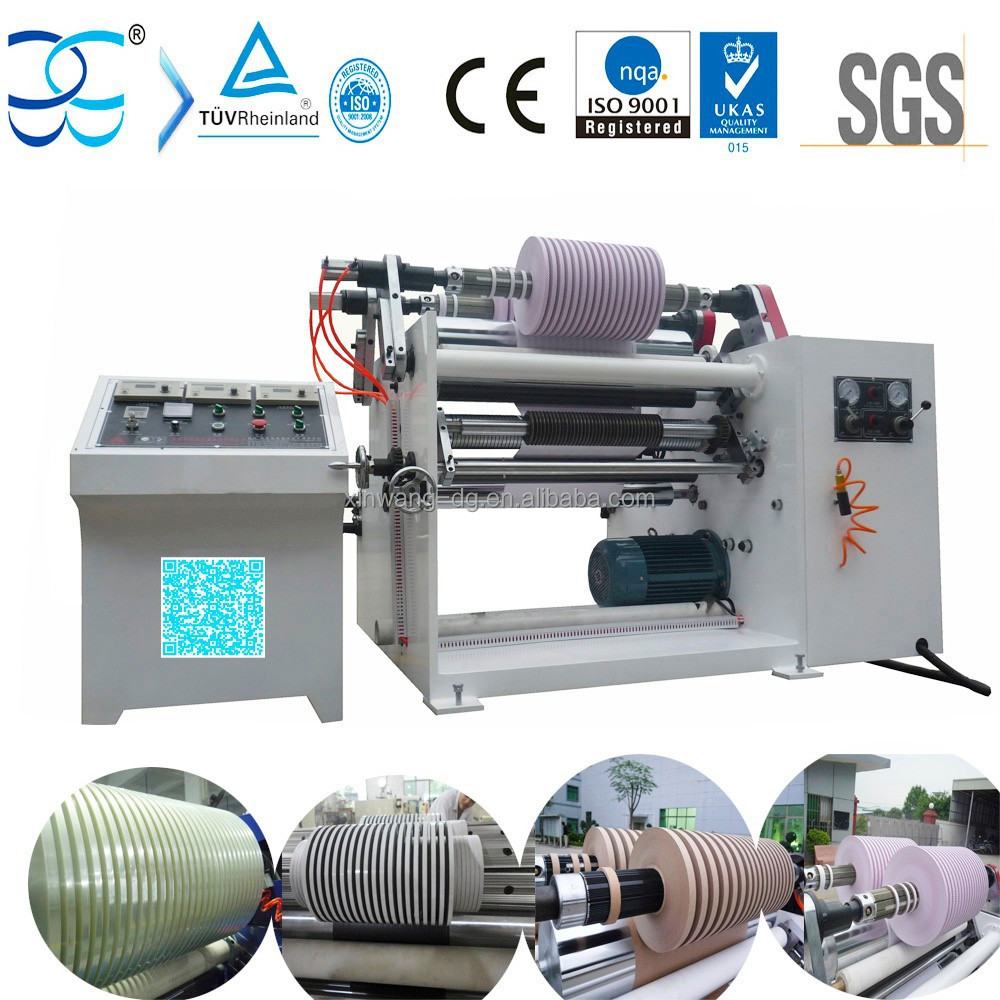 Double Shaft PE Film Slitting Rewinder