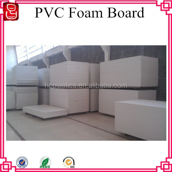 jual pvc foam board/20mm pvc rigid foam board/pvc rigid foam sheet
