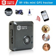 Professional manufacturer pet and personal vehicle fleet management RF-V8S gps tracker long life battery