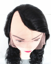Favorites Compare Best quality indian remy 20' 1b# natural wave weaving cap u part wig cap,paypal acceptable