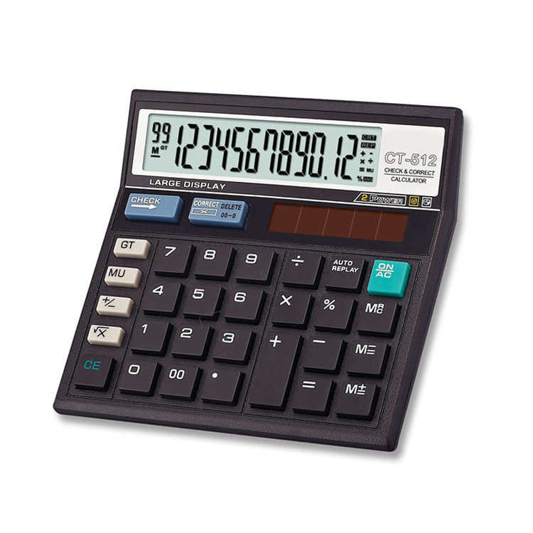 Electronic ct 512 high quality fatory price calculator parts