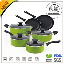 Newest 10 pcs Aluminium kitchen equipment for restaurant with price