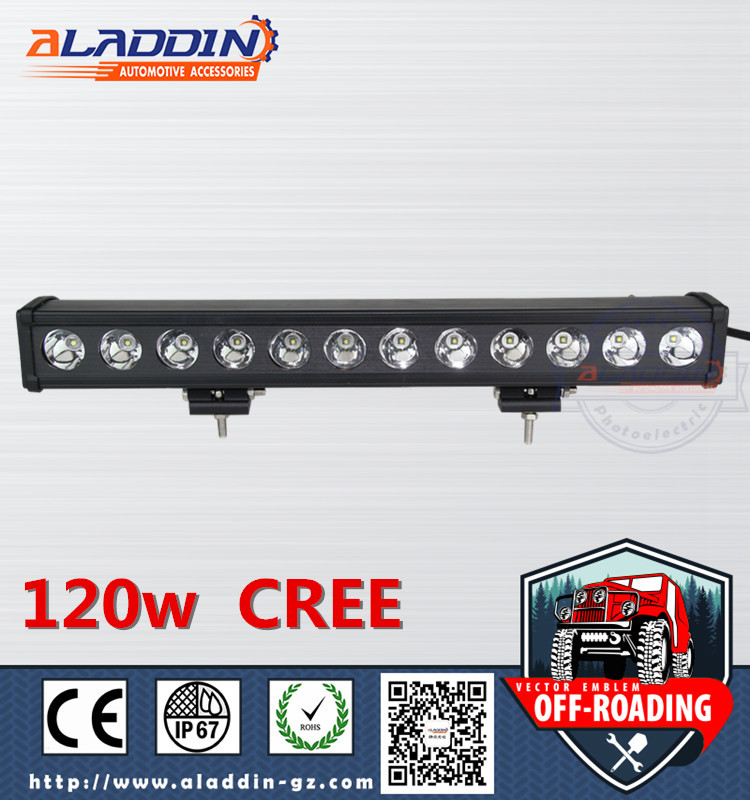 china 2016 new products highpower lamp led fog lamp 120w LED BAR