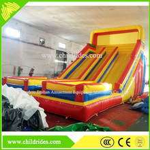 entertainment playground fun game used cheap inflatable water slide