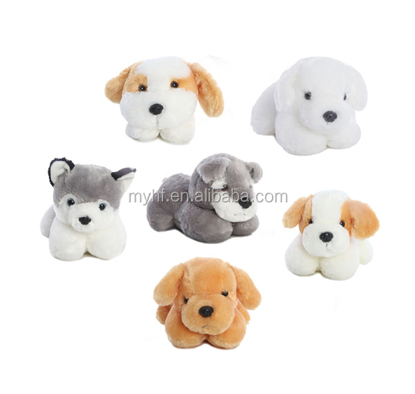New collection for Promote Gift 5inch 6pcs assortment mini puppies dog toys