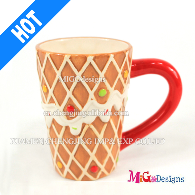Top Selling Adorable Mug with Creative Shaped Ceramic Cups