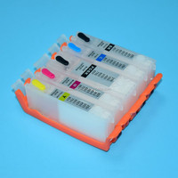 Refillable Ink Cartridge For canon PGI 425 426 series For Canon IP4840 IP4940 IX6540 MG5140 MG5240 MG5340 MX714 MX884