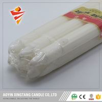paraffin density house large white candles