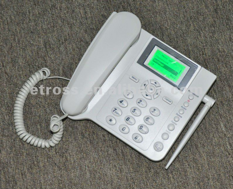 900/1800MHz GSM fixed wireless phone FWP / GSM home phone with battery , support SMS