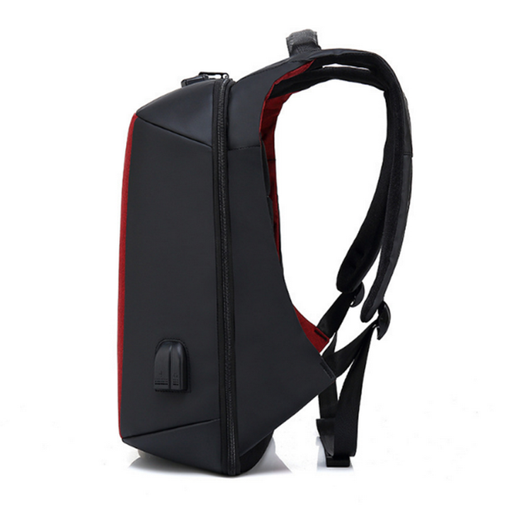 "New design anti theft 17"" laptop backpack for school business with usb and earphone outlet"