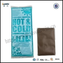Health Care Product Compress Cooling Gel Beads Hot Cold Gel Pack customed logo