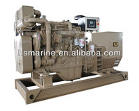 Factory price water cooled 90kw marine diesel generator with class certificate