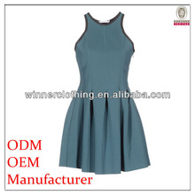 European style ladies brand name fashion summer dresses