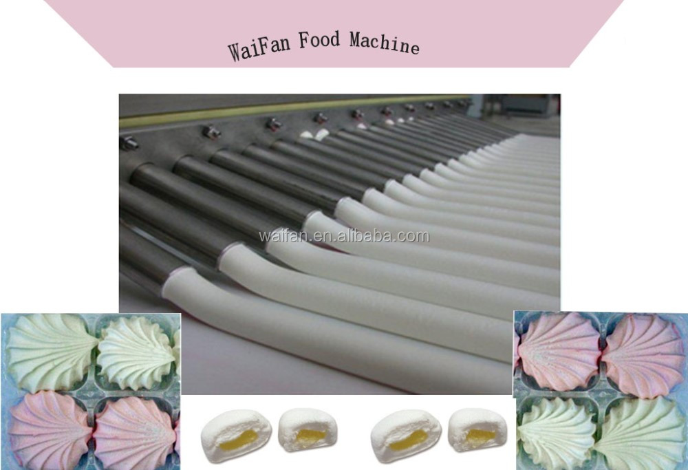 Candy making machine of marshmalloe/soft candy production line/automatically marshmallow making machines